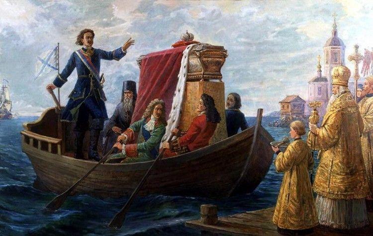 В 1724 году